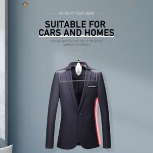 Image 2 - Auto Kleiderbügel für Anzüge Mantel Kleidung Halter Universal Auto Sitz Haken Schrumpf Auto Organizer Halterungen Auto Innen Zubehör