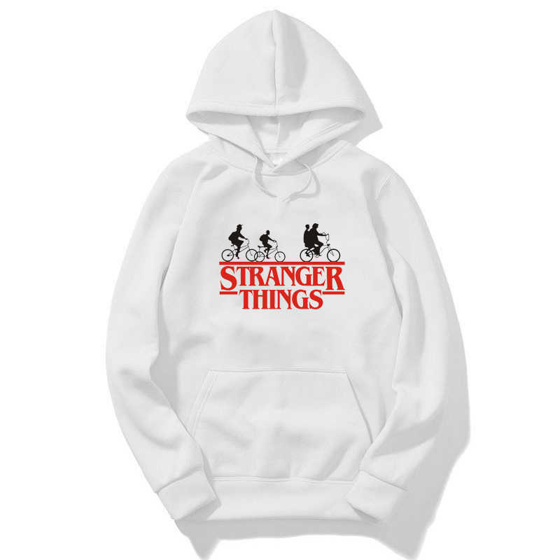 Stranger Things Girls Hoodie Boys Sweatshirts Long Sleeved Hoody Children Autumn Clothes Toddler Outerwear 2-14 Years Sudaderas