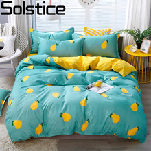Solstice Home Textile Twin Full Queen King Bedding Set Pink Panther Blue Duvet Cover Sheet Pillowcase Girl Kid Teenage Bed Linen(China)