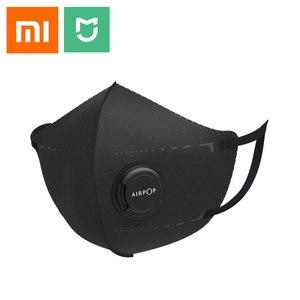 Image 1 - 4PCS Xiomi Mijia Airpop נייד ללבוש PM2.5 נגד אובך מסכת מתכוונן אוזן תלייה נוח עבור xiaomi חכם בית