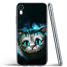 Untuk Samsung Galaxy A3 A5 A7 A9 A8 Star Lite A6 Plus 2018 2015 2016 2017 Alice In Wonderland Cheshires kucing Lembut Shell Cover(China)