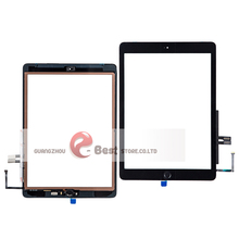 10Pcs/lot For iPad 9.7 (2018 Version)  6 6th Gen A1893 A1954 Touch Screen Digitizer Glass With Home Button