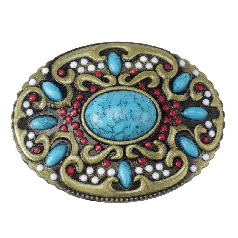 Retro Style Belt Buckle Homemade Handmade Waistband Components For 3.8cm Belt
