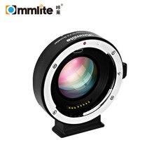 Commlite EF FX Booster 0.71x Autofocus Adapter Voor Canon Ef EF S Lens Fujifilm Fx Mount Camera Af Lens Adapter