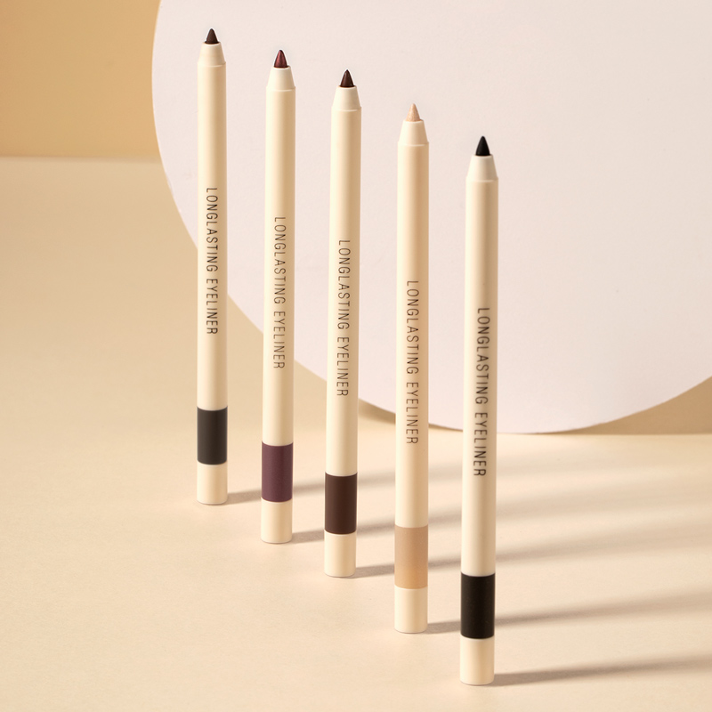 FOCALLURE Long-lasting Gel Eyeliner Pencil Waterproof Easy To Wear Black Liner Pen Eye Makeup