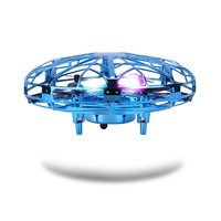 UFO Drone Mini Hand Operated RC Helicopter Quadrocopter Dron Infrared Induction Aircraft RC Flying Toys For Kids Adults Boy Gift|RC Helicopters| |  -