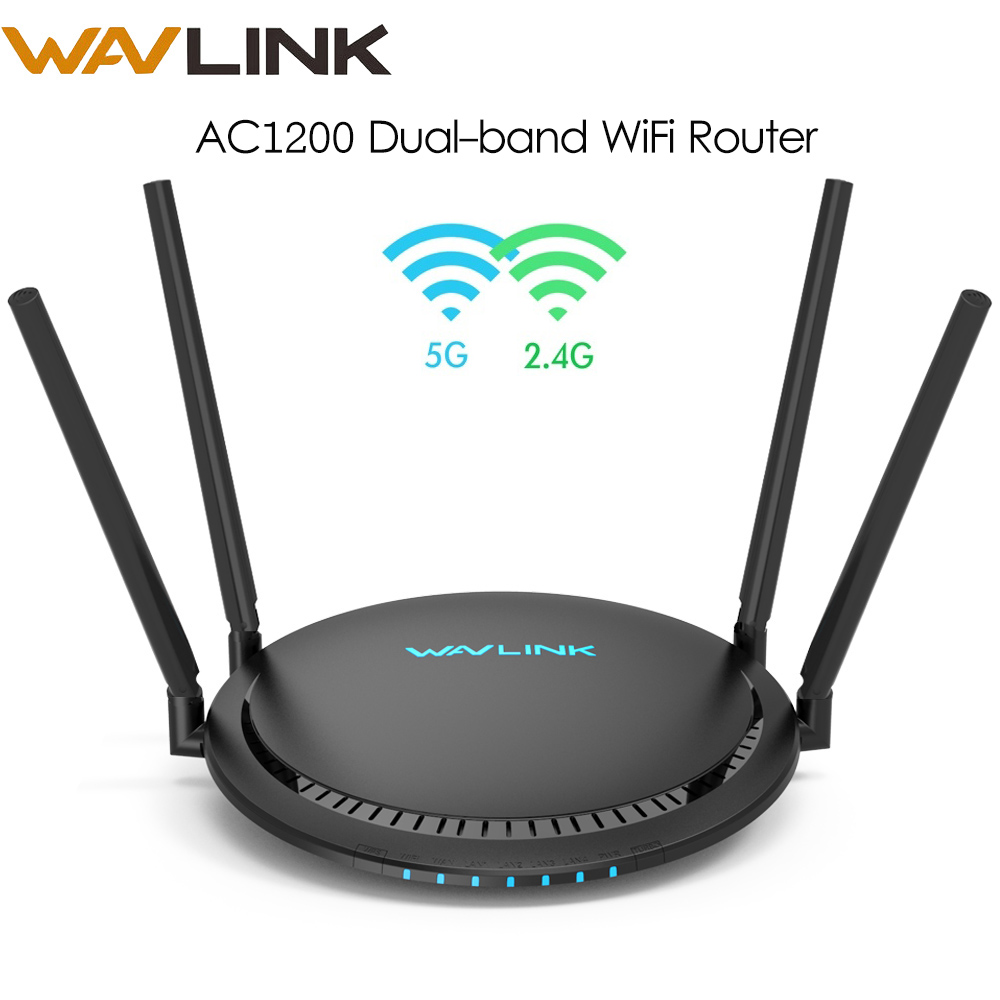 Wavlink WIFI Repeater Setup Router/Extender Dual-Band 5ghz 1200mbps Smart Wireless 4