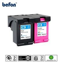 Сменный картридж befon 301XL для принтера HP 301 XL, DeskJet 1050, 2050, 3050, 2150, 3150, 1010, 1510, 2540