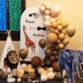 118 хромированные колпачки для золотистый и черный шары арки комплект гирлянды золото ретро шарики Baby Shower Свадебные Выпускной День рождения ...
