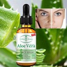 Feuchtigkeit Gesicht Serum Langlebige Natürliche Aloe Essenz Vitamin E Öl Steuerrungs Lange Anhaltende Feuchtigkeits Anti-Aging gesicht Pflege