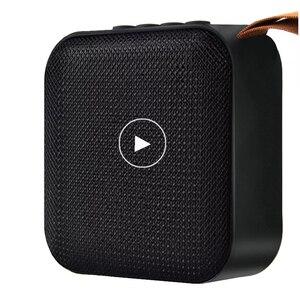 Image 1 - Altavoz portátil T5 inalámbrico por Bluetooth 4,2, Mini columna de altavoz con tarjeta TF y radio FM para exteriores