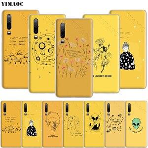YIMAOC желтый эстетический чехол для телефона с рисунком пришельцев для Huawei P8 P9 P10 P20 P30 Lite Pro P Smart Z 2018 2019