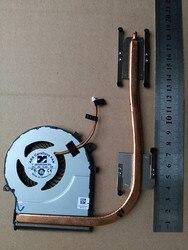 Nowy laptop cpu wentylator z radiatorem dla Toshiba satellite C55D-C-10P Carrizo-L