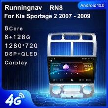 4G LTE Android 10.1 KIA sportage için 2007 2008 2009 2010 2011 multimedya Stereo araç DVD oynatıcı oynatıcı navigasyon GPS radyo