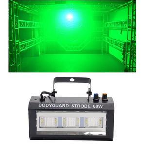 Image 4 - LED Bodyguard Strobe แสงคริสต์มาสโปรเจคเตอร์ Stroboscopes โคมไฟ Soundcontrol เวที Dj ดิสโก้ไฟ Led Strobe