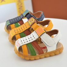 New Summer Baby Boy Shoes Korean Version of The Cow Band Sof