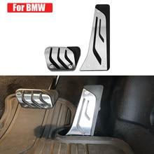 Coche Carmilla en Gas pedales de freno de Pedal para cubierta BMW F30 F10 F20 E34 E39 E90 E60 E63 F12 E84 F25 X1 X3 X5 Pedal de freno