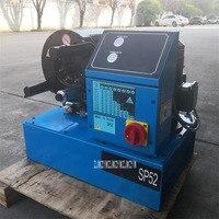 SP52 High Pressure Pipe Press Machine Hydraulic Hose Crimping Machine Pipe Pressing Swaging Machine 380V / 220V 3Kw 6 51mm 450T
