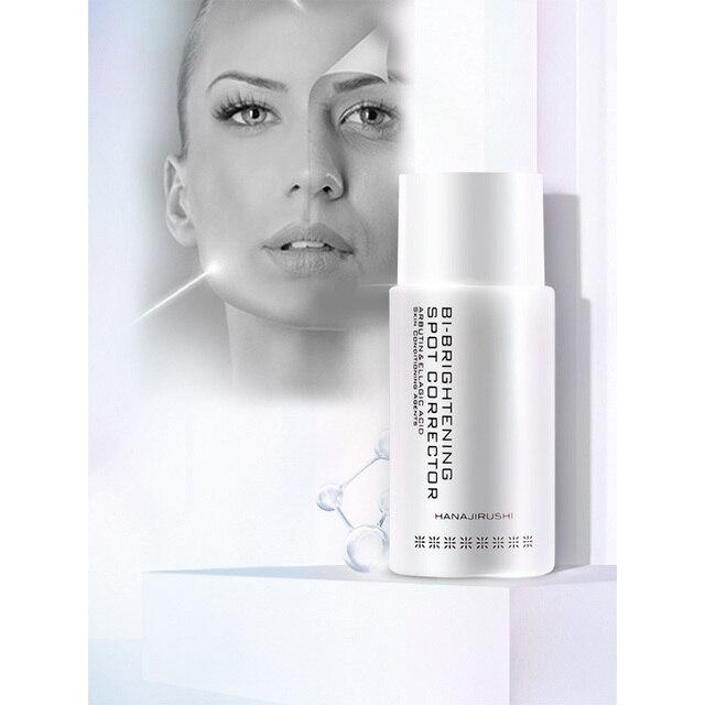 HANAJIRUSHI pigmentasyon kaldır krem Pigment nokta düzeltici beyazlatıcı aydınlatıcı krem çiller kaldırmak Serum 50ml