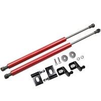 For Toyota Innova (AN140) 2015-2019 Front Hood modify Refit Gas Spring Carbon Fiber Lift Supports Struts Rod Arm Shocks