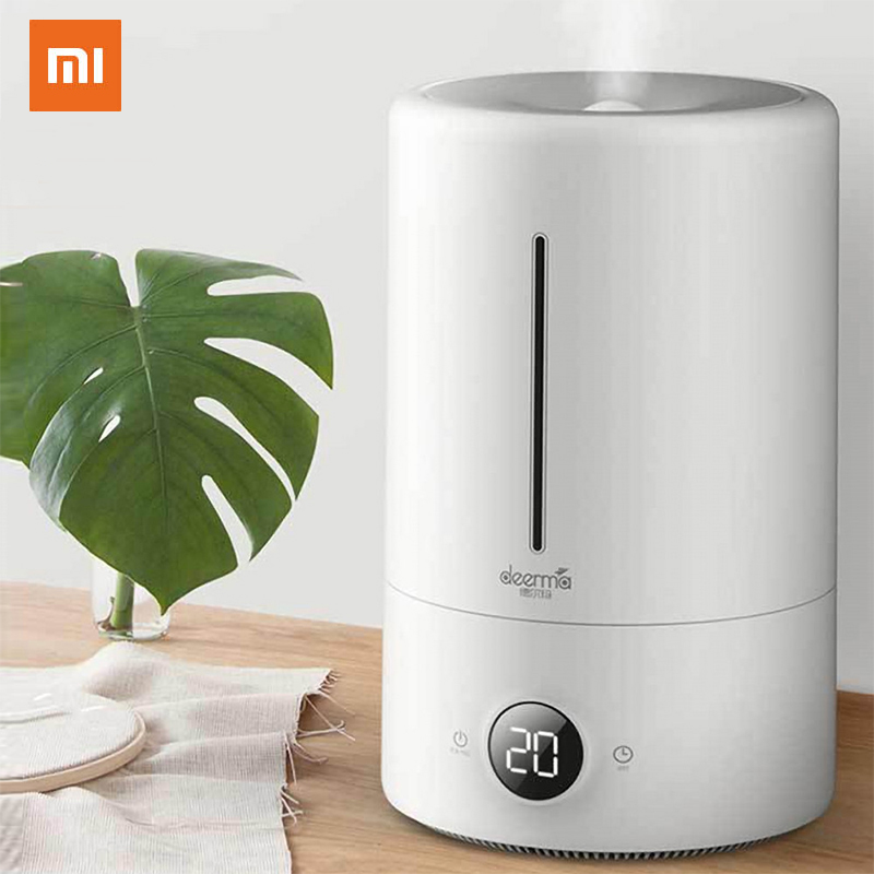 Xiaomi Deerma 5L Air Humidifier Touch Version Smart Constant Humidity UV LED 12H Timing Quiet Air Purifying For Air F628S