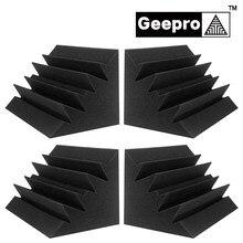 Geepro 18x18x30cm Akustische Schaum Schallschutz Hohe Dichte Flammschutzmittel Bass Falle Sound Absorption Studio Ecke schaum