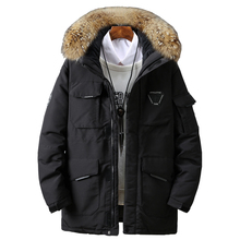 2019men #8217 s down jacket high quality Men Winter Jacket Hooded Duck Down Jacket Male Windproof Parka Thick Warm Overcoat coats 5858 cheap JUNGLE ZONE Thick (Winter) JUNGLE ZONE 5858 REGULAR Casual zipper Full Solid Denim Hat Detachable Zippers Pockets Sequined