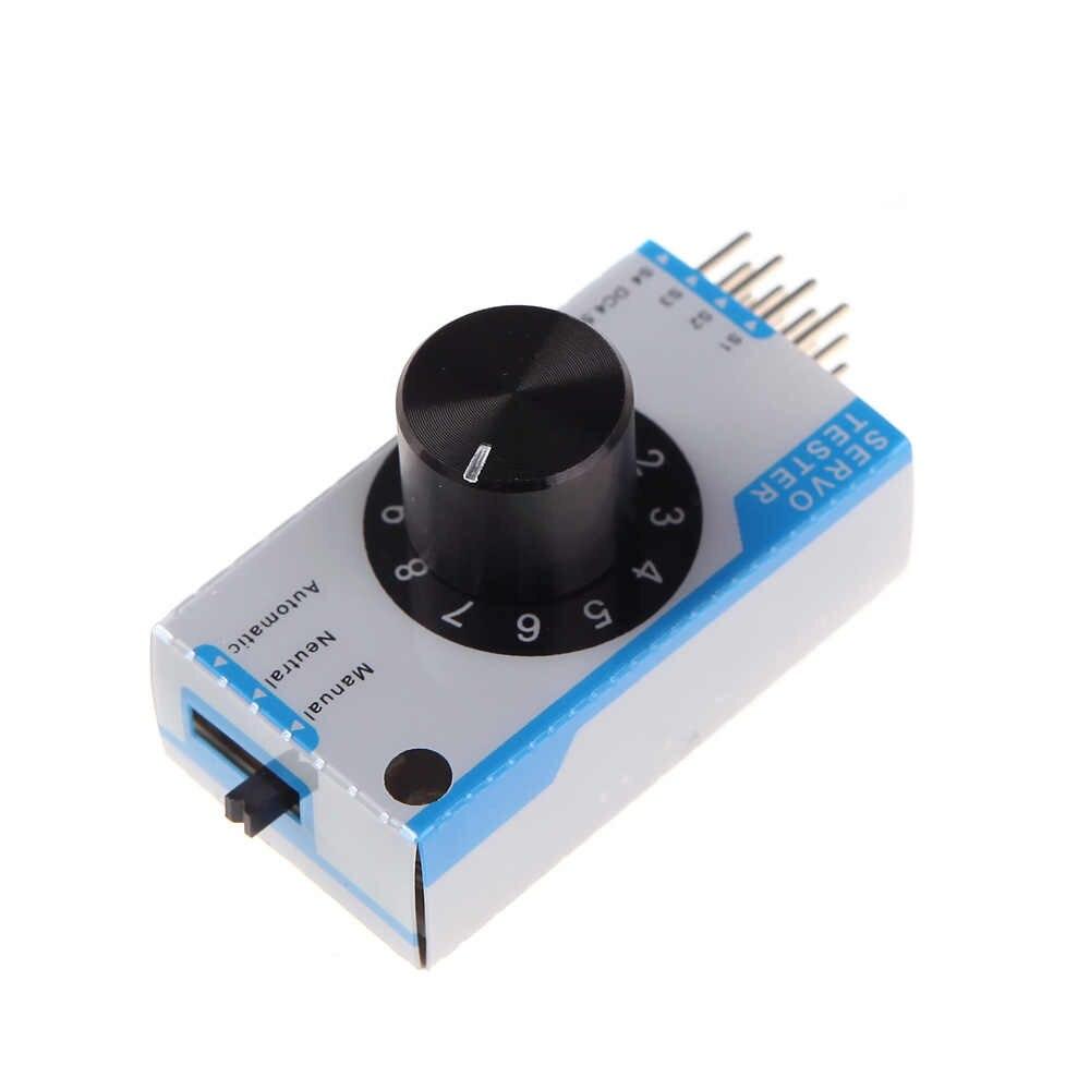 Mini 3 canales Servo probador Maestro de consistencia Servo para helicóptero avión coche RC herramientas