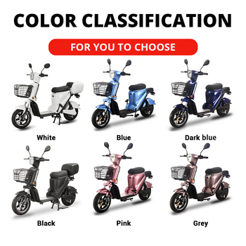 BENOD Electric Motorcycle Battery Fast High-power Electric Motor Energy-saving Electric Motor Scooter Moped Bicycle EU Trans 2