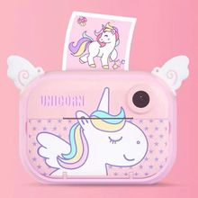 Kids Digital Camera Toys Digital Printing 1200W Pixel HD Recording WI-FI Suport Front And Rear Dual Instant Child Camera Present