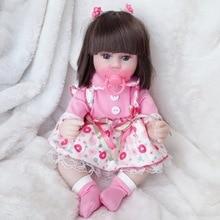 Reborn Dolls Cloth-Body Birthday Realistic Toddler Bebe with Giraffe Christmas-Gifts