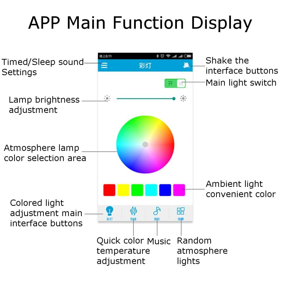 teto 80 cores casa iluminacao app para 05