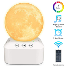 7 Color Night Light White Noise Sound Machine Baby Toddler Kids Easy Sleep Aid