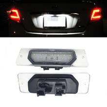 2pcs 18SMD LED Number License Plate Light Lamps For Nissan Cefiro A33 MZXIMA CA33 Fuga