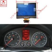 1 stücke LCD Display Bildschirm für VW Jetta/Touran/Passat/Golf 5/Jetta/SITZ/EOS UNS Modell Instrument Cluster Dashboard Pixel Reparatur
