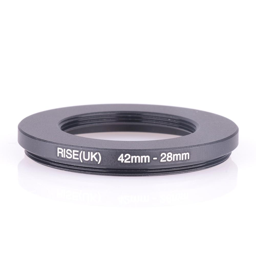 RISE(UK) 42mm-28mm 42-28 Mm 42 To 28 Step Down Filter Ring Adapter