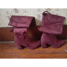 overknee female winter womens Flat Long Knight Woman Thin Exceed Knee boots