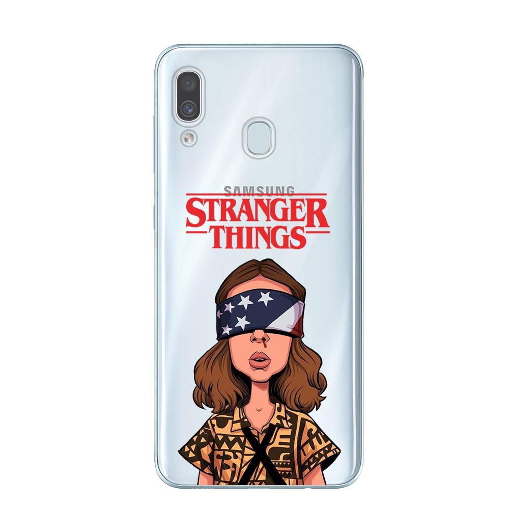 Stranger things season 3 2019 Phone Case For Coque Samsung Galaxy A10 A20 A30 A40 A50 A70 A7 A9 A6 A8 Plus 2018 Soft TPU Cover
