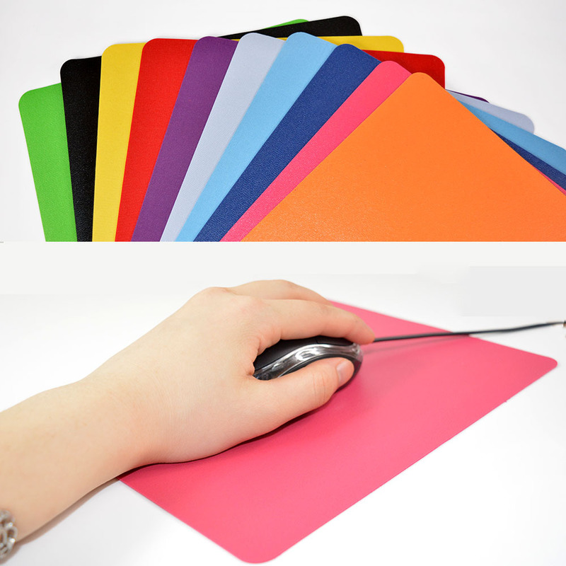 New Ultra-thin Optical Mousepad Anti-Slip Wrist Rests Mice Mouse Pad Mats For Gaming Laptop Mousepad