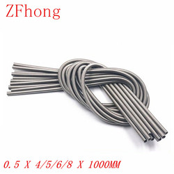 Сверхдлинный пружинный удлинитель из нержавеющей стали 0,5x4/5/6/8x1000, пружинный провод диаметром 0,3 мм, внешний диаметр 3 мм/4 мм/5 мм, Длина мм