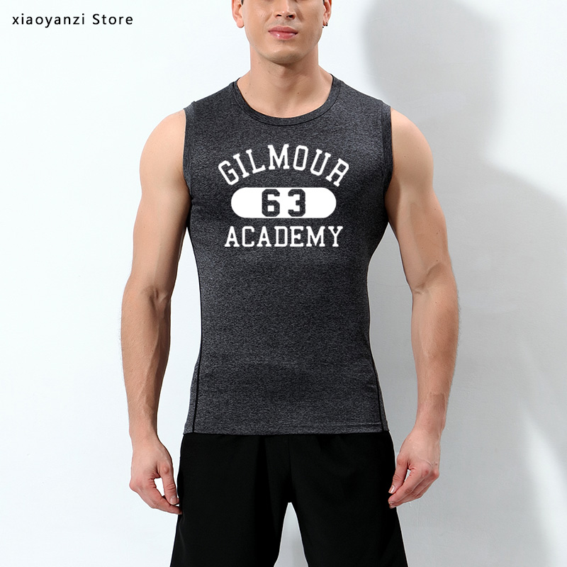 2020 Gilmour Academy 63 Printed Men's shirts sports tank top sleeveless vest Man Clothing fitness Tops Tees Plus Size
