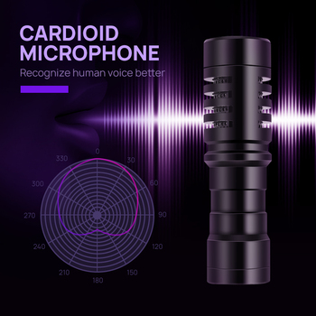 Video Microphone for DSLR Camera Smartph...