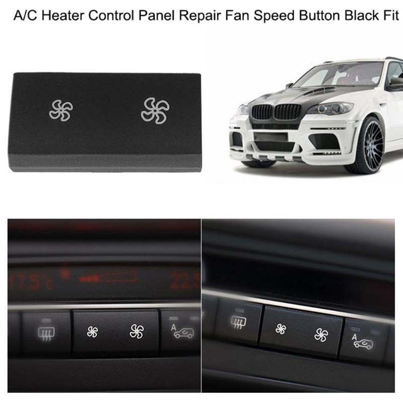 Heater Climate Air Conditioning Control Button Cover For BMW X5 E70 X6 E71