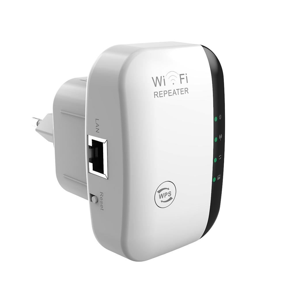 Wireless WiFi Repeater 300Mbps Router Extender 802.11N/B/G Wi-fi Network Antenna Signal Boosters Amplifier Wps Encryption
