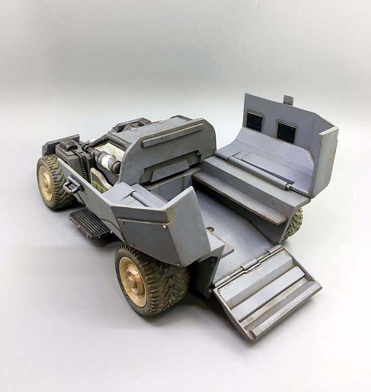 В наличии детские подарки 1/27 весы 21 см диких носорогов Скаут штурмовая машина модель грузового автомобиля для фанатов детские подарки - 2