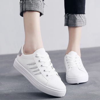 2020 New Spring Summer Woman Vulcanized Shoes Female Flat Casual Womens White Women Sneakers Zapatillas Mujer