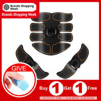 8-Pack Abdomen Muscle Training AB Belt Slimming Trainer Arm/Leg/Waist Abdominal Fitness Training Machine Body Exercise Tool