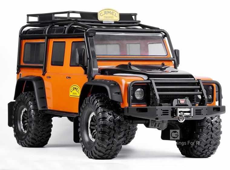 Per 1/10 RC Crawler Auto Traxxas TRX4 Defender Bronco Universale In Metallo Anteriore Anti-collisione Paraurti Assiale Scx10 90046 90047