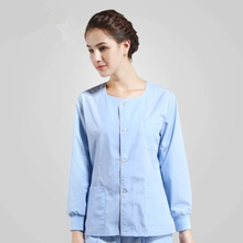 Operating room womens long-sleeved hand-washing clothes separate body suit isolation rinse