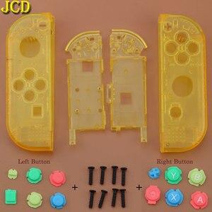 Image 4 - JCD avec boîtier doutils couvercle de coque pour interrupteur Nintend NS Joy Con boîtier de Protection de contrôleur avec bouton ABXY d pad pour NX Joy Con